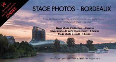 Stage photo d'initiation – 4h
