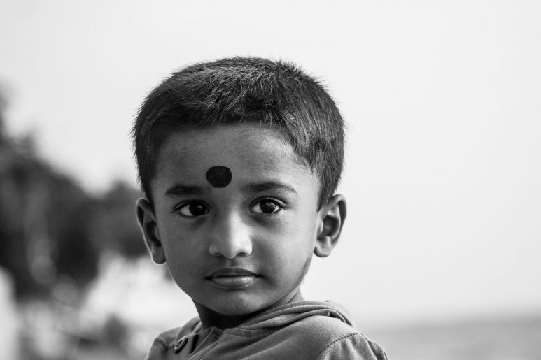 The young with the Bindi