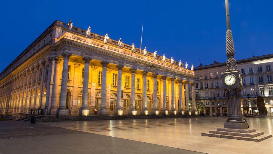 Place de la Comédie by night