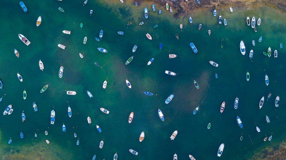 Full of boats
