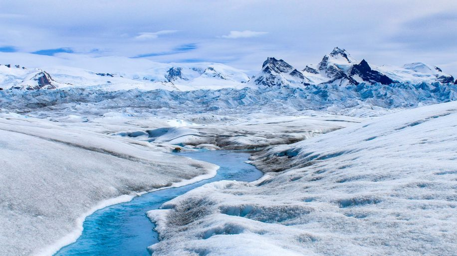 Glacier river 1
