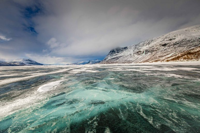 Frozen Akkajaure