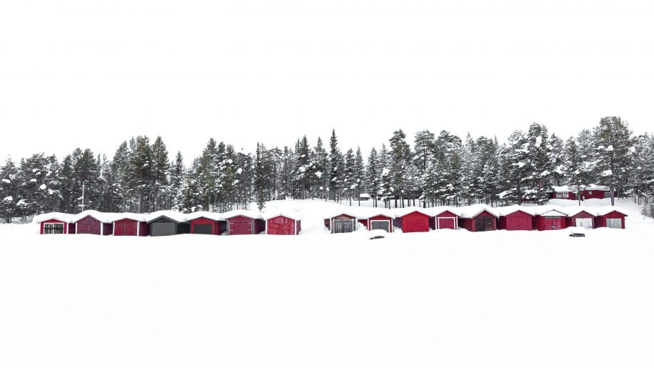 The red huts
