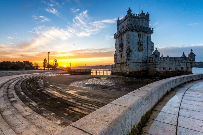 Tower sunrise